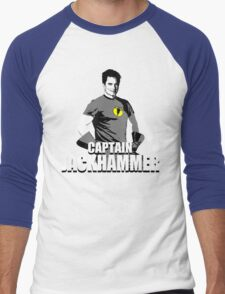 CAPTAIN JACKHAMMER Men's Baseball ¾ T-Shirt