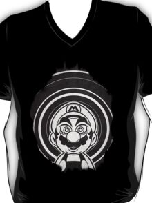 Super Mario Tripping Bros. Geek Line Artly  T-Shirt