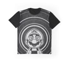 Super Mario Tripping Bros. Geek Line Artly  Graphic T-Shirt