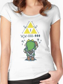 A Link to the Math Women's Fitted Scoop T-Shirt
