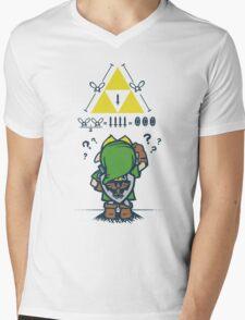 A Link to the Math Mens V-Neck T-Shirt