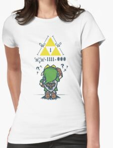 A Link to the Math Womens Fitted T-Shirt
