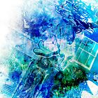 Blue  by Gingerbread Graphics