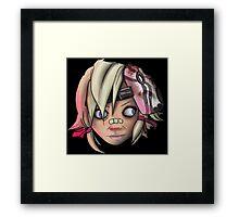 Lazy eye Framed Print