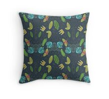 The Raven Cycle Pattern Throw Pillow