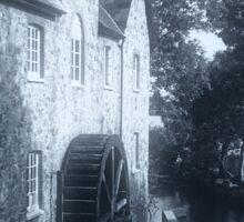 Riverside Mill, Bovey Tracey, Devon, United Kingdom. Sticker