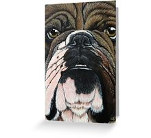 Beggin' Bully Greeting Card