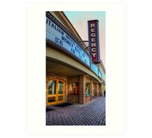 San Juan Theater Art Print