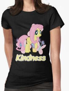 Fluttershy - Kindness Womens Fitted T-Shirt