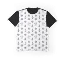 Adventure Pattern Graphic T-Shirt