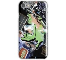 Green Finger iPhone Case/Skin