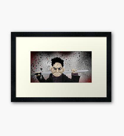 Angel - Smile Time Puppet Framed Print