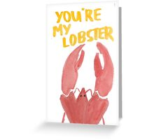 """Friends: """"Lobster"""" Greeting Card"""