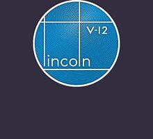 Vintage Lincoln V-12 emblem Unisex T-Shirt