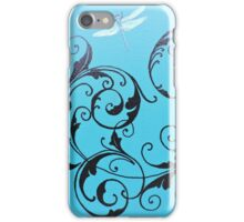Dragonfly Swirl iPhone Case/Skin