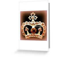 Queen of the day... Greeting Card