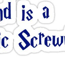 My other wand Sticker