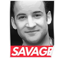 Stay Savage Poster