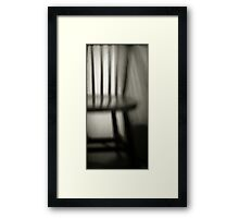 Interrogation Framed Print