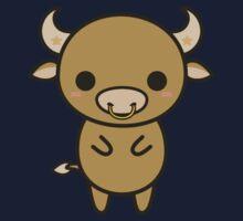 Kawaii zodiac-Taurus One Piece - Long Sleeve