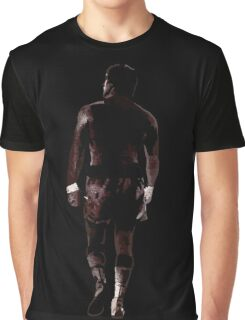 Rocky Balboa back Graphic T-Shirt