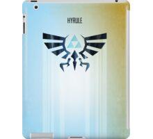 Legend of Zelda Hyrule Rising Minimal Vector Poster  iPad Case/Skin
