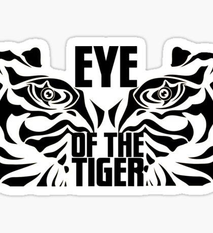 Eye of the tiger - Rocky Balboa Sticker