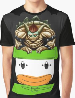 King Koopa's Clown Car Graphic T-Shirt