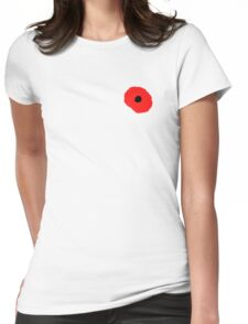 Armistice Day, Simple Poppy, Old Soldier, Remembrance Day, War, on White T-Shirt