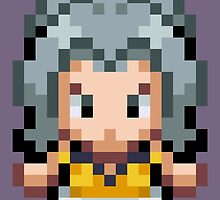 Karen Overworld Sprite by fourfourfour