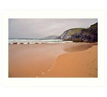 Kerry Shoreline  Art Print