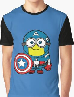 Captain Minerica Graphic T-Shirt