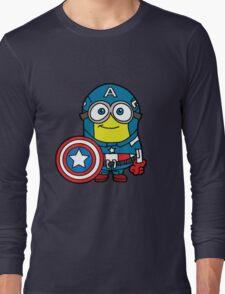 Captain Minerica Long Sleeve T-Shirt