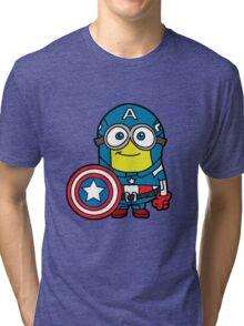 Captain Minerica Tri-blend T-Shirt