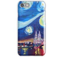 Starry Night in Cologne - Van Gogh Inspirations iPhone Case/Skin