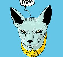 Lying Cat by BovaArt