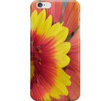 Flower Case Red & Yellow iPhone Case/Skin