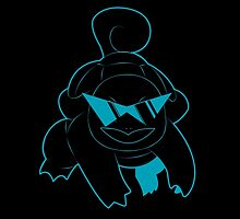 Neon Squirtle by paterack