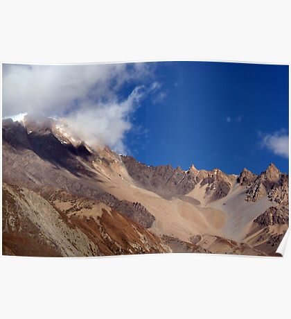 Clouds and Mountains, Yak Kharka to Thorung Phedi Poster