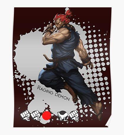 Raging Demon Poster