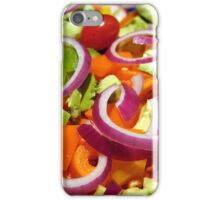 Salad! iPhone Case/Skin