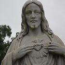 jesus statue by photofanatic