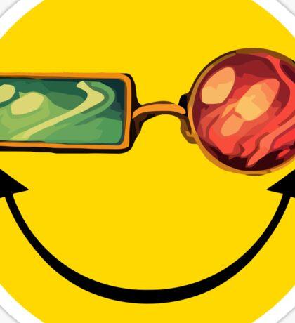 Transmetro trippy - Comic mashup Sticker