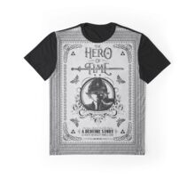 Legend of Zelda Link Hero of Time Geek Line Artly Graphic T-Shirt
