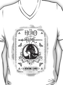 Legend of Zelda Link Hero of Time Geek Line Artly T-Shirt