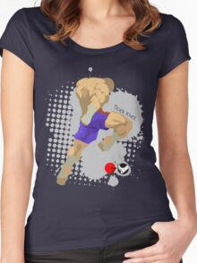 Tiger knee Women's Fitted Scoop T-Shirt