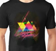Collissions in Color Art Poster Unisex T-Shirt