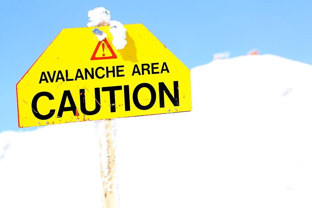 Avalanche Area by Abby Lewtas