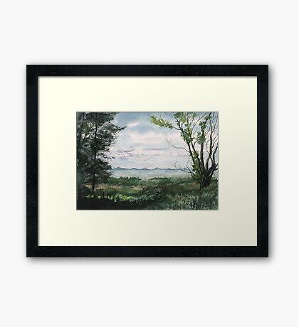 Plein Air 2 Framed Print
