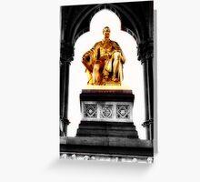 Prince Albert memorial, London Greeting Card